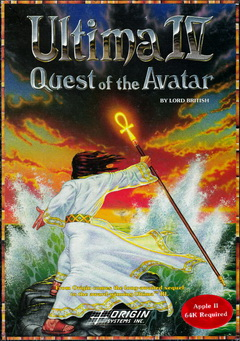 Box von Ultima IV0 - Quest of the Avatar